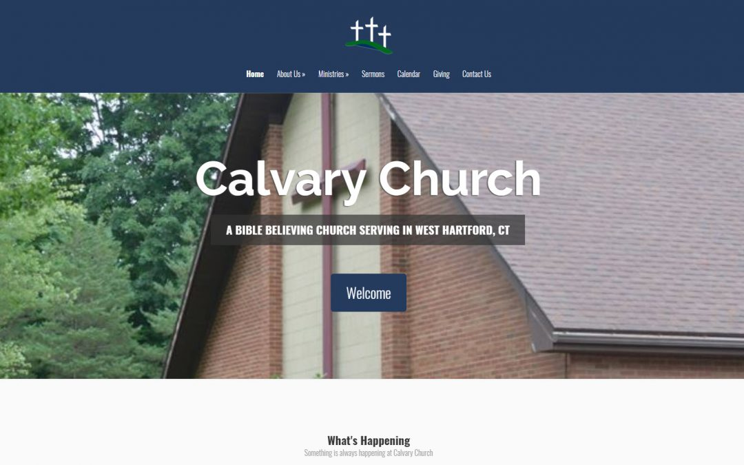 Calvary Church Attains Lofty Goals